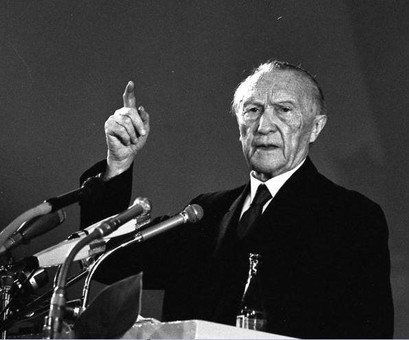 Konrad Adenauer Biografie