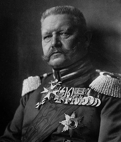 Paul von Hindenburg Biografie
