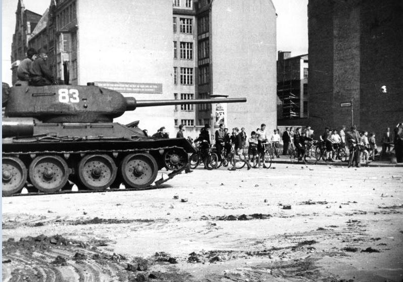 """""""Volksaufstand"""" am 17. Juni 1953"""