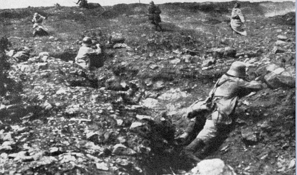 Ausbruch und Verlauf des Ersten Weltkriegs