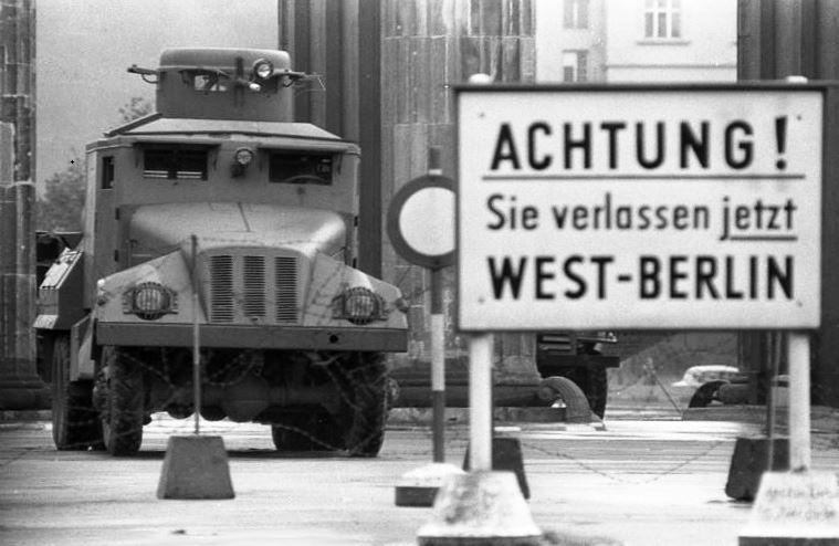 Teilung BRD und DDR