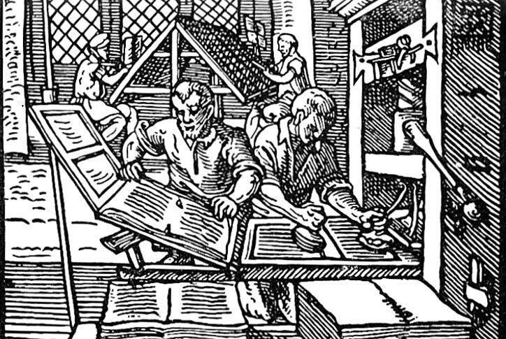 Erfindung des Buchdrucks