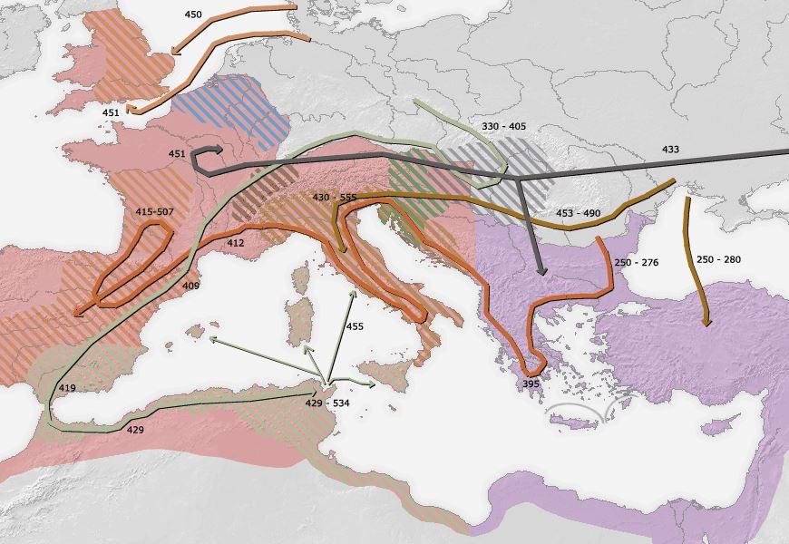 Untergang des Römischen Reiches
