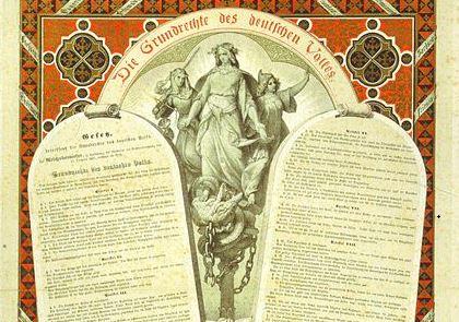 Unterschiede der Paulskirchenverfassung 1849 und Reichsverfassung 1871