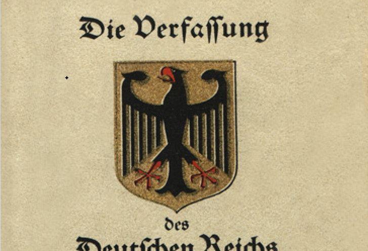 Unterschiede der Weimarer Verfassung 1919 und des Grundgesetzes 1949
