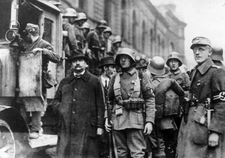 Krisenjahre 1919 – 1923