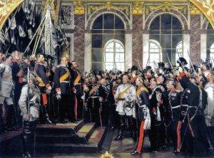 Reichsgründung 1871, Gemälde von Anton von Werner
