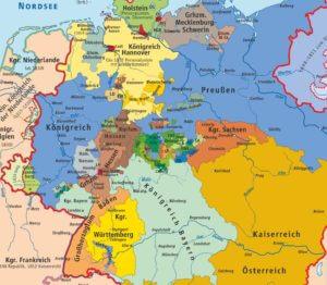 Großdeutsche Lösung Karte