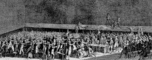 Darstellung des Ballhausschwurs 1789