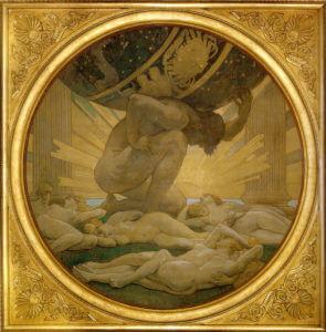 Atlas, Gott