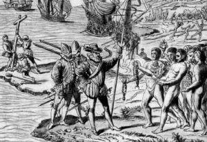 Entdeckung Amerikas durch Kolumbus, 1492