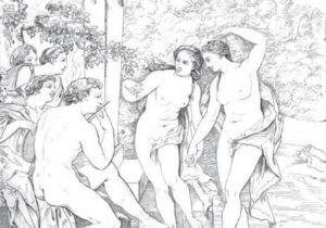 Nymphen, Mythologie