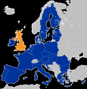 Brexit Karte