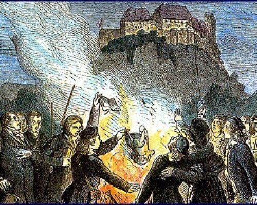 Bücherverbrennung 1817
