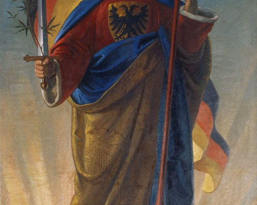 Germania, Symbol des deutschen Nationalismus 1848