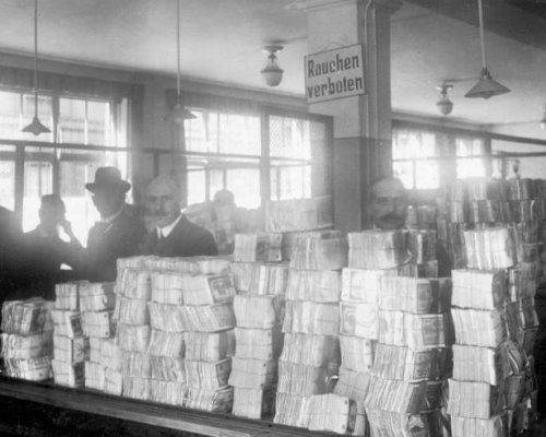 Inflation 1923, Notenpresse