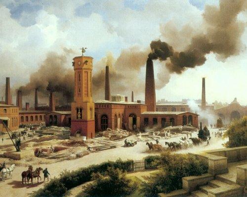 Industrialisierung Arbeiter