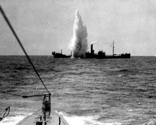 Uneingeschränkter U-Boot-Krieg 1917