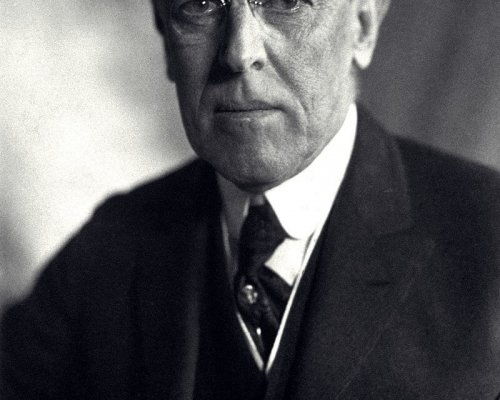 Woodrow Wilson, US-Präsident