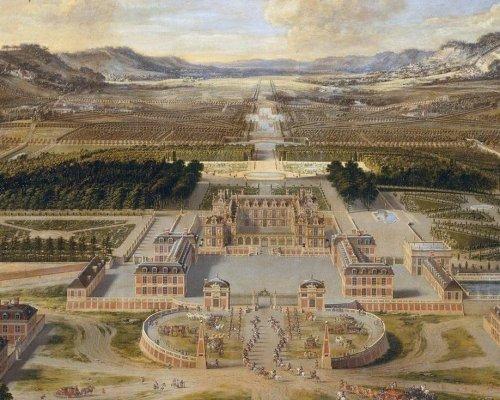Ludwigs Königsschloss in Versailles - Symbol des Absolutismus in Frankreich