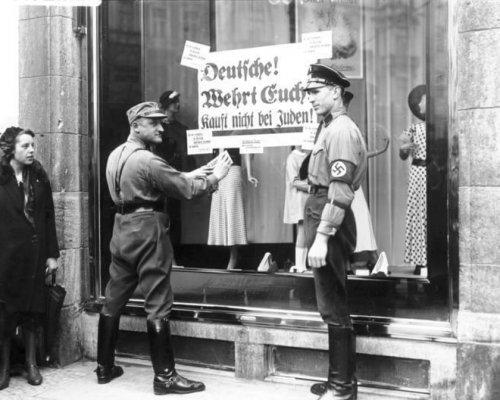 Entrechtung der Juden 1933