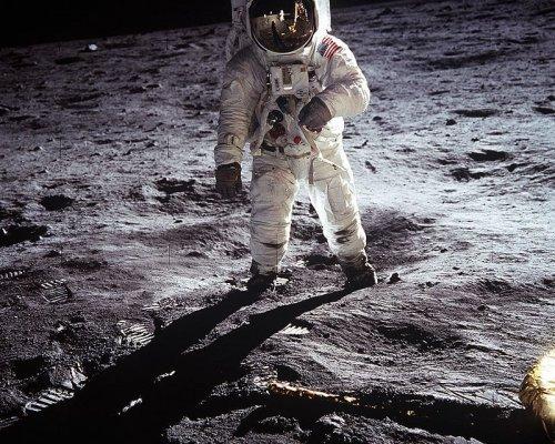 Mondlandung von Apollo 11 im Jahr 1969