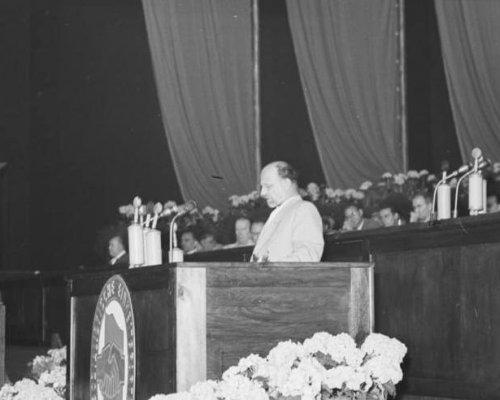 SED Parteikonferenz Aufbau Sozialismus