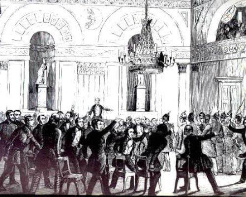 Preußen Auflösung Nationalversammlung
