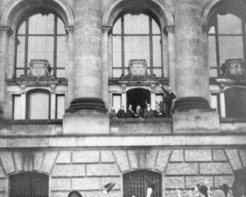 Ausrufung der Republik am 9. November 1918