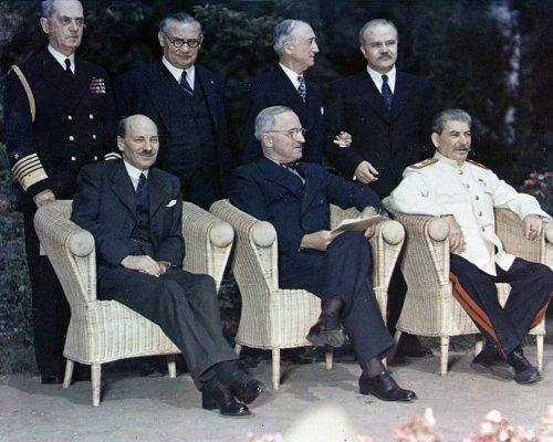 Potsdamer Konferenz Teilnehmer