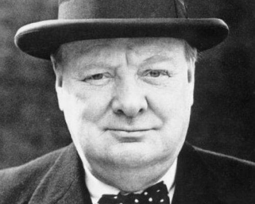 Winston Churchill, britischer Premierminister