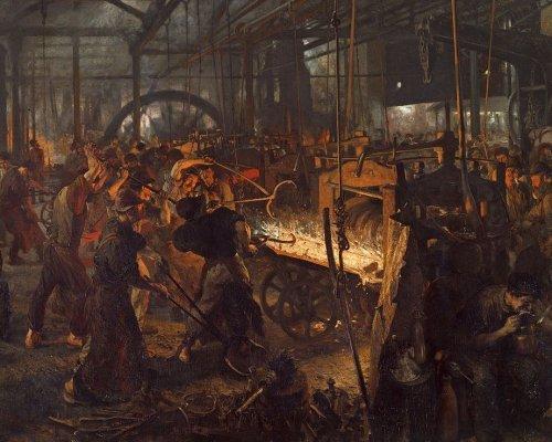 Industrialisierung, Arbeitsbedingungen in Fabriken