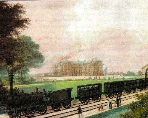 Eisenbahnbau in der Industrialisierung im 19. Jahrhundert