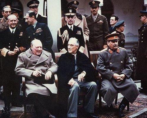 Die großen Drei auf der Potsdamer Konferenz