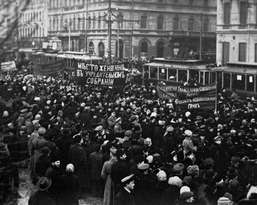 Februarrevolution 1917 in Russland