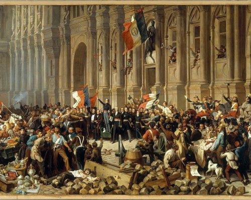 Februarrevolution 1848 in Frankreich