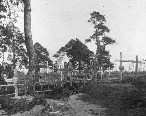Soldatenfriedhöfe nach dem Ersten Weltkrieg
