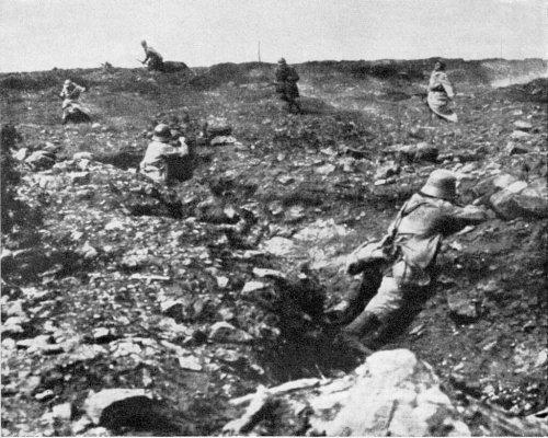 Stellungskrieg im Ersten Weltkrieg