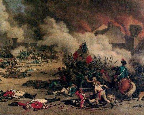 Die Französische Revolution führte zum Ende des Ancien Regime in Europa