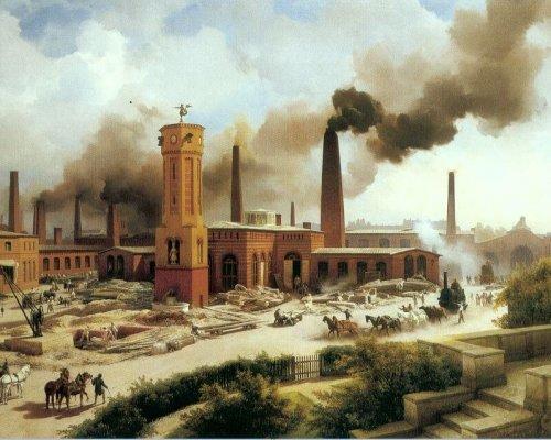 Die Industrialisierung sorgte im 19. Jahrhundert für einen technischen, wirtschaftlichen und gesellschaftlichen Entwicklungsschub