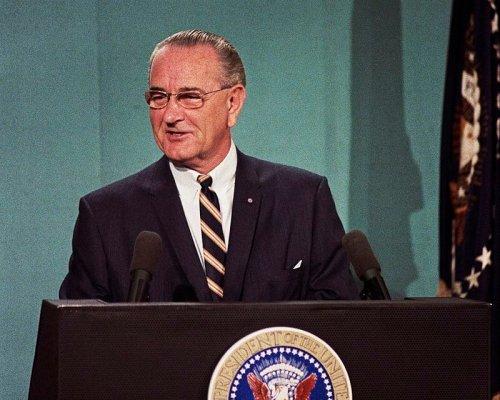 US-Präsident Johnson