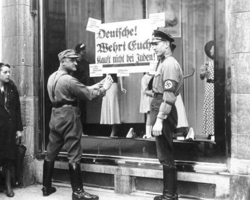 Boykott jüdischer Geschäfte, 1933