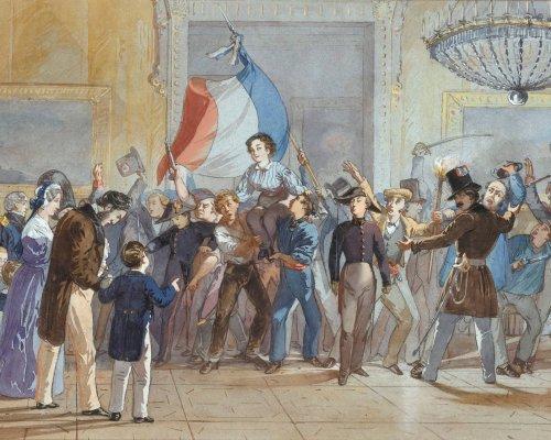 Julirevolution 1830 in Frankreich