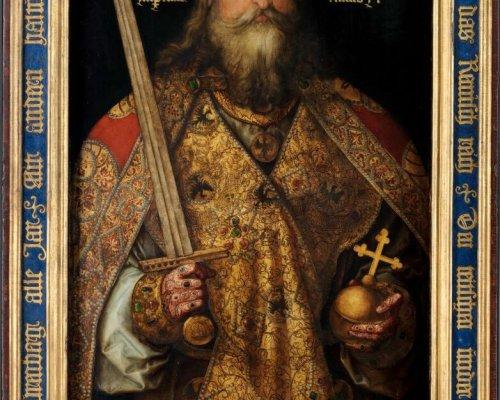 Karl der Große begründete mit seiner Kaiserkrönung im Jahr 800 das christlich-mittelalterliche Kaisertum in Westeuropa