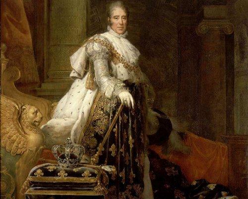 König Karl X. von Frankreich