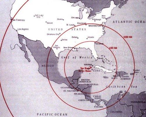 Während der Kuba-Krise (1962) stand die Welt kurz vor Ausbruch eines Atomkriegs
