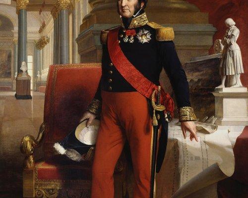 """Die Revolutionäre in Frankreich setzten den """"Bürgerkönig"""" Louis-Philippe I. ein"""