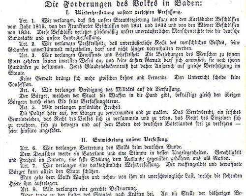 Märzforderungen 1848