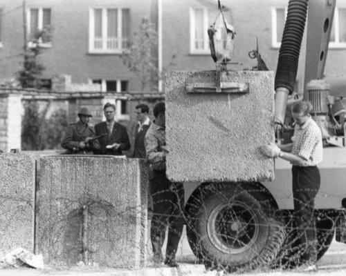 Mauerbau Berlin 1961