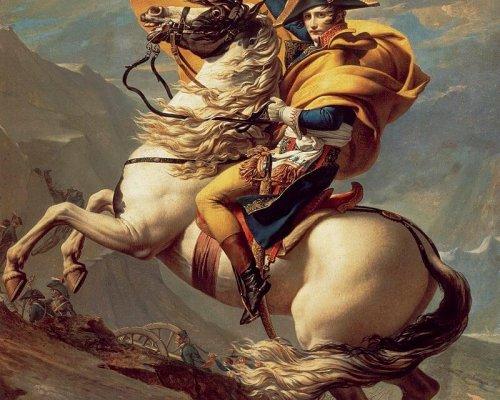 General Napoleon Bonaparte übernahm seit 1799 die Regierung Frankreichs und eroberte mit seinen Truppen große Teile Europas